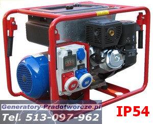 Agregat prądotw�rczy IP54  -  9kVA