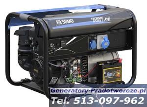 Agregat prądotw�rczy SDMO TECHNIC 7500 TE AVR MODYS i TECHNIC 6500 E AVR MODYS