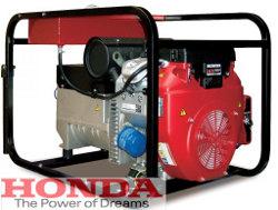 agregat prądotwórczy 15kVA z silnikiem honda