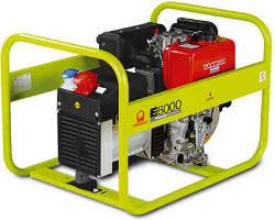 Agregat prądotwórczy Pramac E6000 z silnikiem diesla YANMAR
